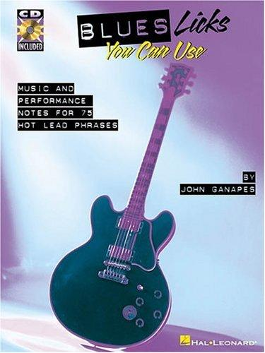 Blues Licks You Can Use: Softcover With Cd (Guitar Educational)