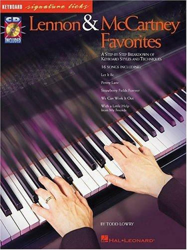 Lennon And Mccartney Favorites: Keyboard Signature Licks (Signature Licks Guitar)