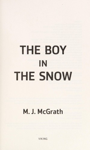 The Boy In The Snow: An Edie Kiglatuk Mystery (Edie Kiglatuk Mysteries)