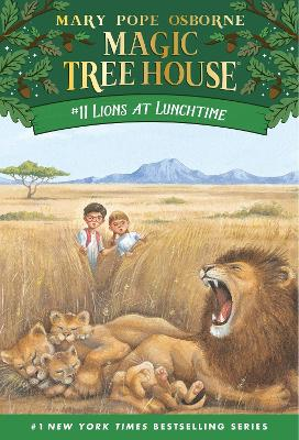 Lions At Lunchtime (Magic Tree House 11, Paper)