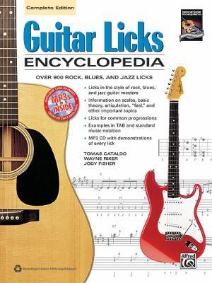 Guitar Licks Encyclopedia: Book & Cd