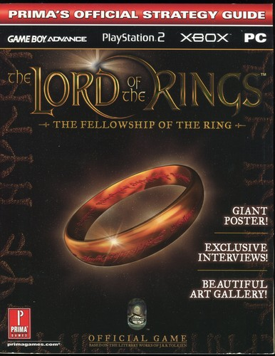 """""Lord Of The Rings - The Fellowship Of The Rings"""", The: Official Strategy Guide"