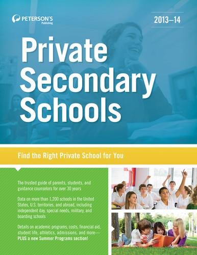 Private Secondary Schools 2013-14