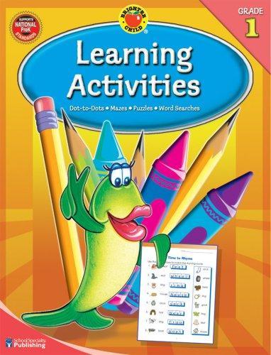 Brighter Child® Learning Activities, Grade 1 (Brighter Child Workbooks)