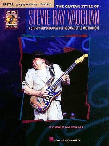 The Guitar Style Of Stevie Ray Vaughan (Signature Licks Guitar)