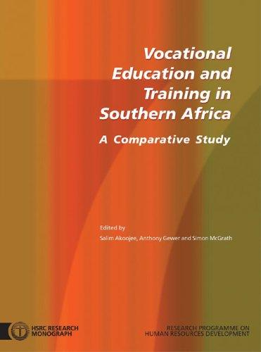 Vocational Education And Training In Southern Africa: A Comparative Study