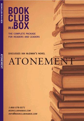 Bookclub In A Box Discusses Atonement, The Novel By Ian Mcewan (Bookclub-In-A-Box)