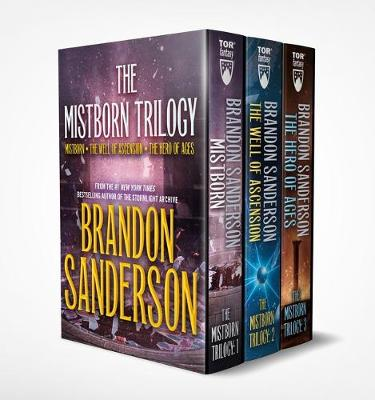 Mistborn Boxed Set I Mistborn, the Well of Ascension, the Hero of Ages