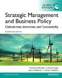 Strategic Management And Business Policy With Mymanagementlab Pearson Etext: International Edition