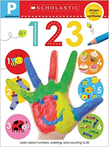 Pre-K Skills Workbook: 123 (Scholastic Early Learners)