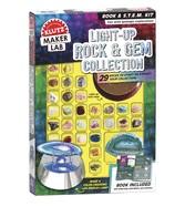 Klutz Light Up Rock and Gem Collection: Maker Lab STEM Kit