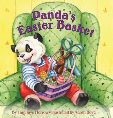 Panda's easter basket