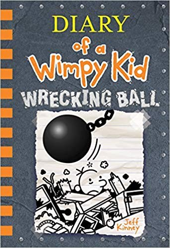 Diary of a Wimpy Kid Book Wrecking Ball #14