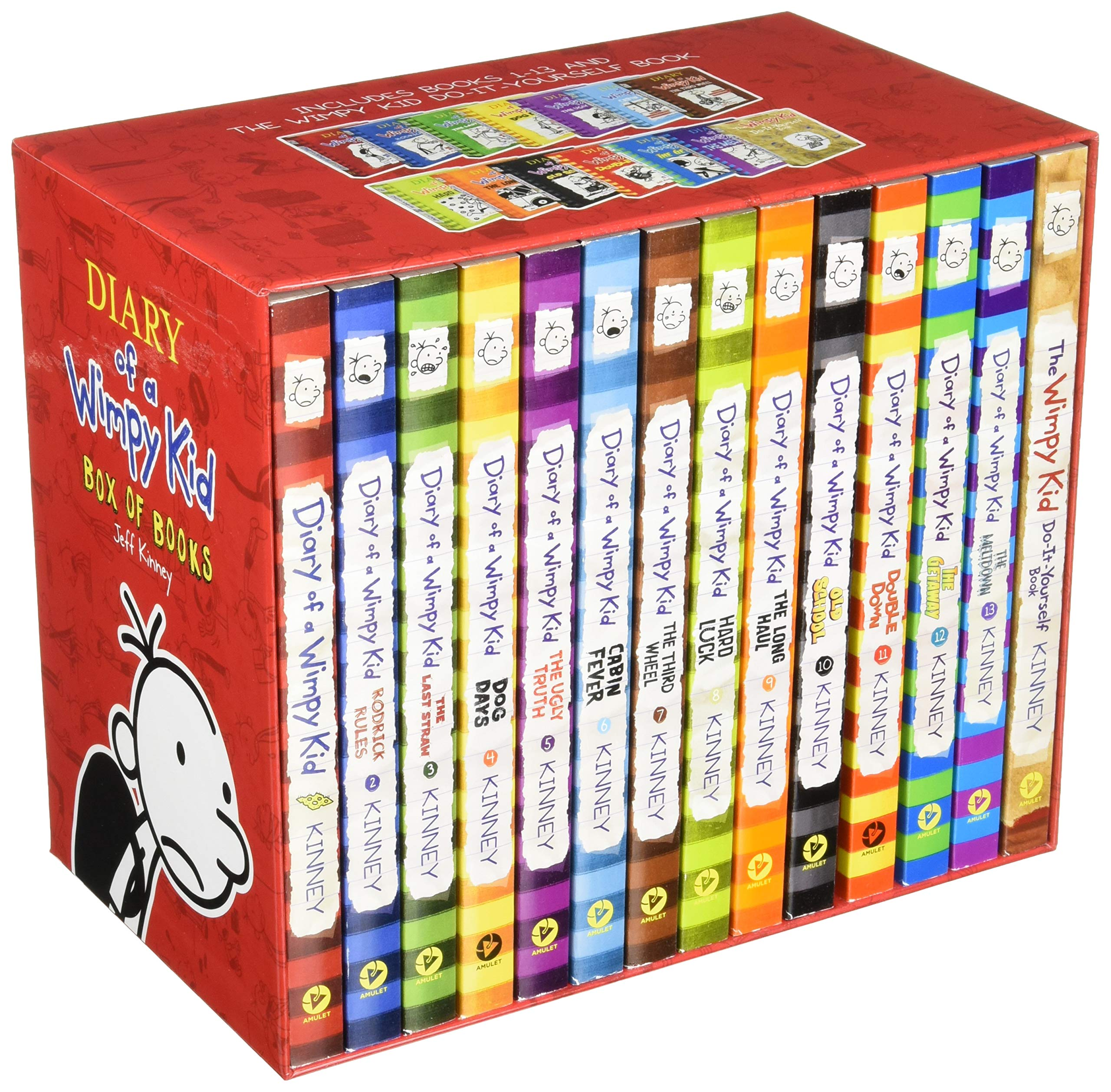 Diary of a Wimpy Kid Box of Books Export Edition (1–13   DIY)