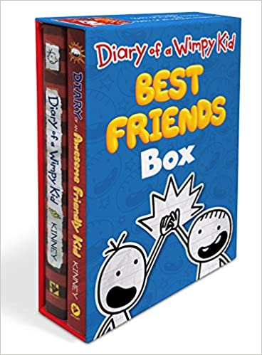 Diary of a Wimpy Kid: Best Friends Box (Diary of a Wimpy Kid Book 1 and Diary of an Awesome Friendly