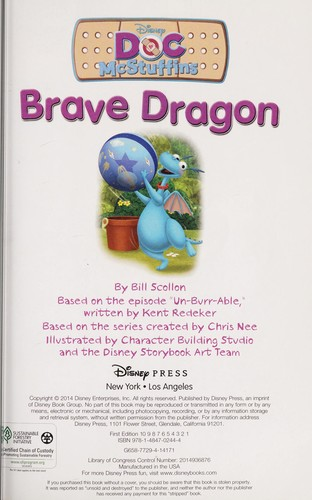 World of Reading: Doc McStuffins Brave Dragon