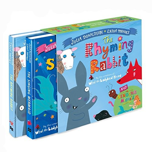 Singing Mermaid And The Rhyming Rabbit Board Book Gift Slipcase, The