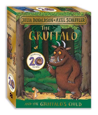 The Gruffalo and The Gruffalo's Child board book gift