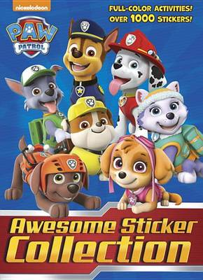 PAW PATROL AWESOME STICKER COL