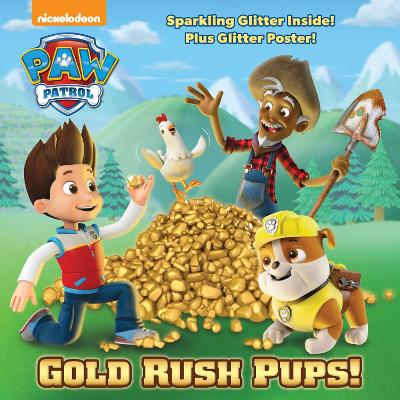 GOLD RUSH PUPS! - GLITTER 8X8