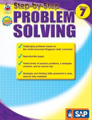 Singapore Math Step-By-Step Problem Solving Grade 7