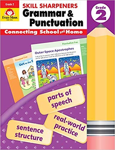 Skill Sharpeners Grammar And Punctuation, Grade 2 Paperback
