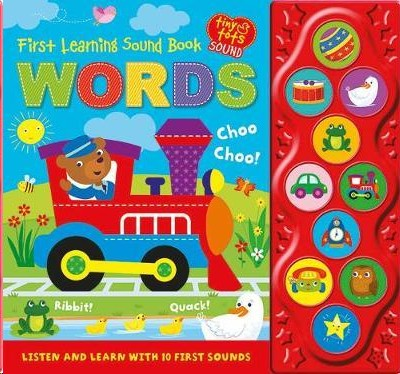 First Learning Sound Book: Words