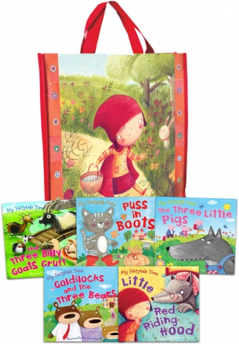 My Fairytale Time Collection 5 Books Set in a Bag