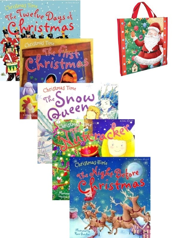 CHRISTMAS TIME 5 BOOKS PACK