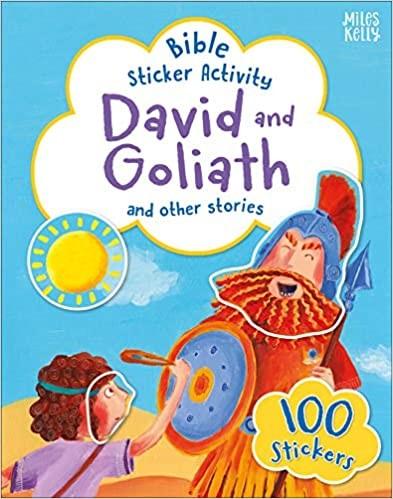 Bible Sticker Activity: David and Goliath