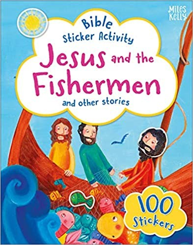 Bible Sticker Activity: Jesus and the Fisherman