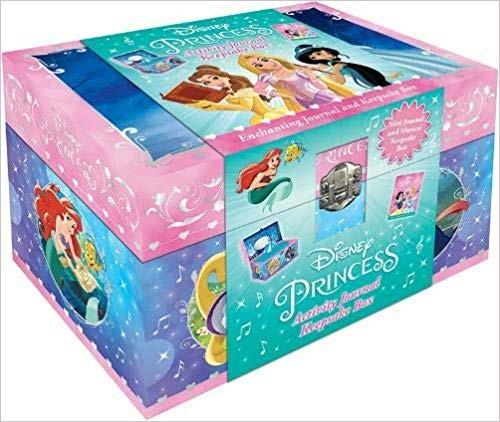 Disney Princess Mixed: Activity Journal Keepsake Box