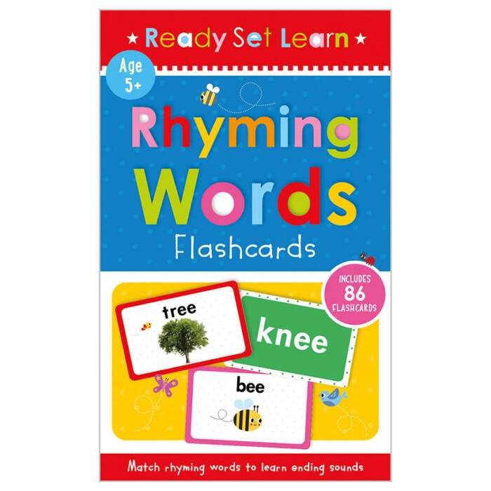 Rhyming Words Flashcards