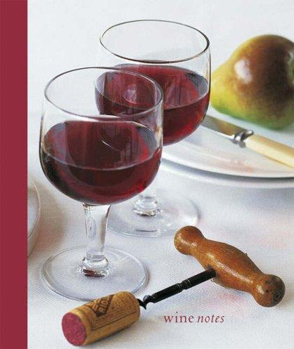 Wine Notes Lined Mini Notebook
