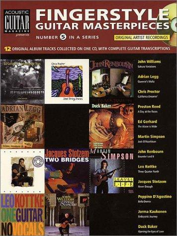 Fingerstyle Guitar Masterpieces Book/Cd (String Letter Publishing) (Acoustic Guitar)