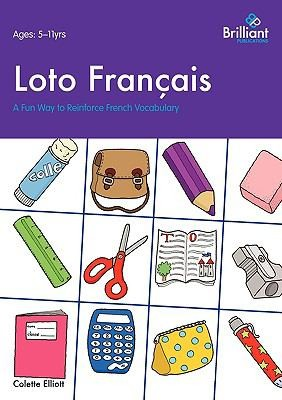 Loto Français. A Fun Way To Reinforce French Vocabulary