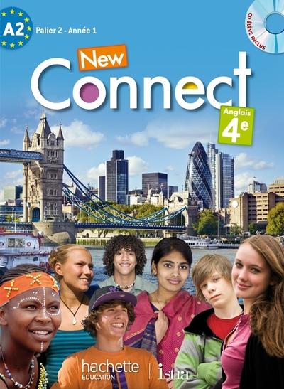 New Connect Anglais 4E : A2, Palier 2, AnnéE 1