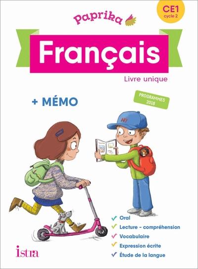 2019 Paprika Francais Ce1 - Edition France - Livre Eleve - Ed. 2019