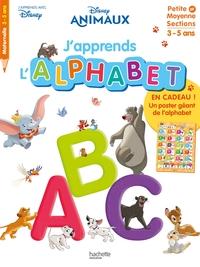 Disney animaux : j'apprends l'alphabet : petite et moyenne sections, 3-5 ans - J'apprends avec Disney