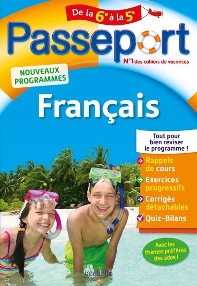 2019 PASSEPORT - FRANCAIS DE LA 6E A LA 5E