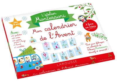 MON ATELIER MONTESSORI CALENDRIER DE L'AVENT