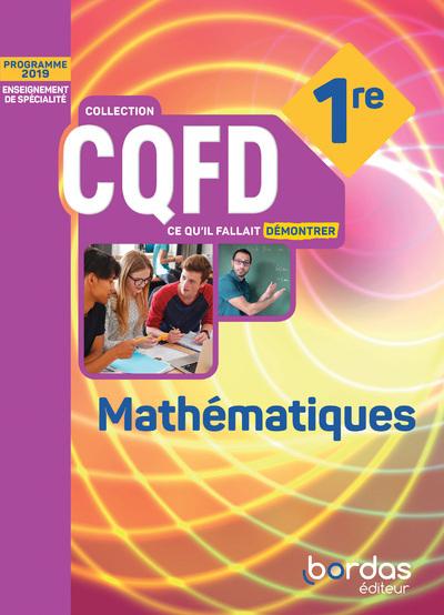 Mathemathiques 1Ere 2019 Livre