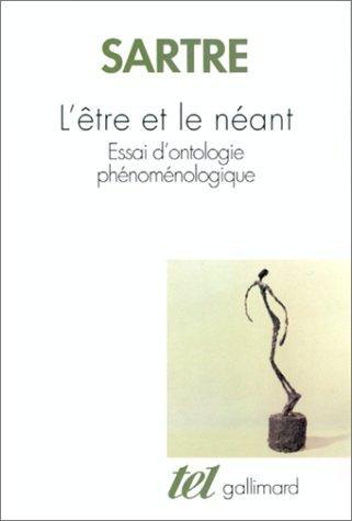 L'etre Et Le Néant
