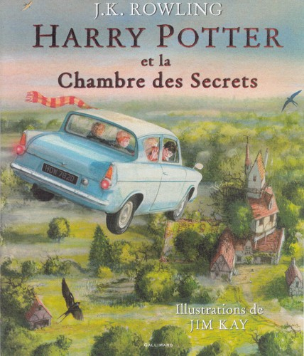 Harry Potter Et La Chambre Des Secrets (Version Illustree)