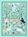 Le grand livre des licornes - L'album à colorier