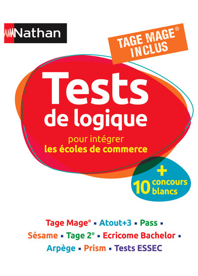 Tests De Logique Pour Preparer Les Ecoles De Commerce 2013
