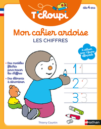 Mon cahier ardoise T'choupi : les chiffres : dès 4 ans