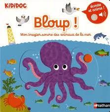 Bloup ! - Mon imagier sonore des animaux de la mer