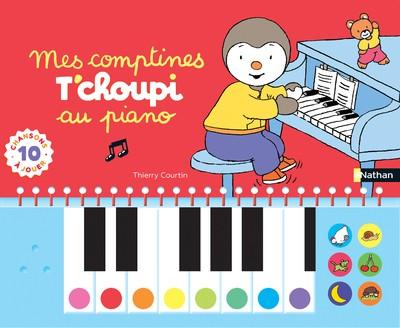 COMPTINES T'CHOUPI AU PIANO