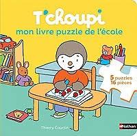 T'choupi - Mon Livre Puzzle De L'ecole